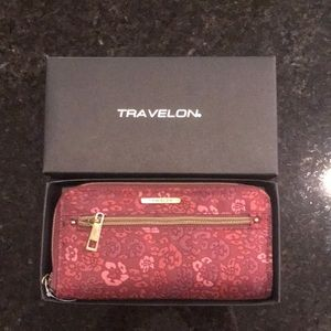 Brand new in Box Travelon Wallet